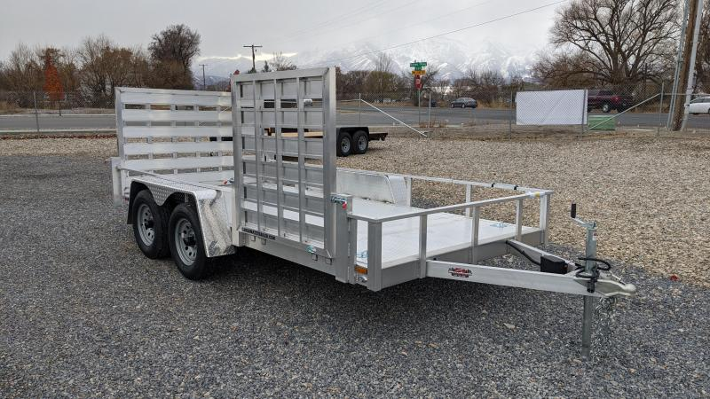 New! 2021 Cargo Mate 6.5x14 All-Aluminum Utility Trailer