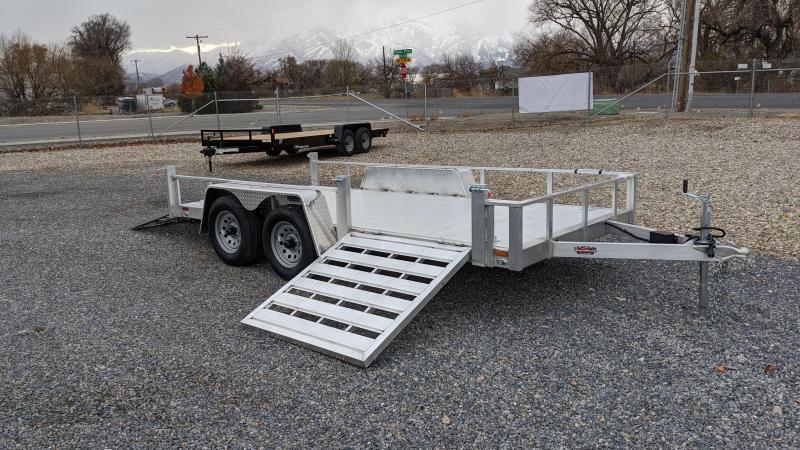 New! 2021 Cargo Mate 6.5x14 All-Aluminum Utility Trailer