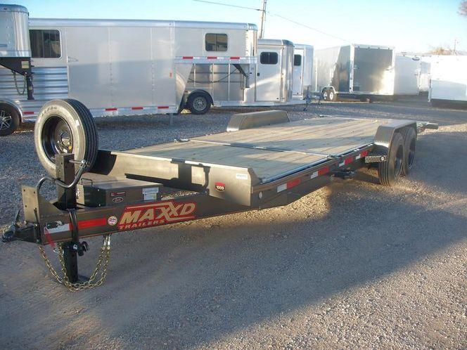 "2020 MAXXD G8X - 8"" Gravity Equipment Tilt Trailer Equipment Trailer"