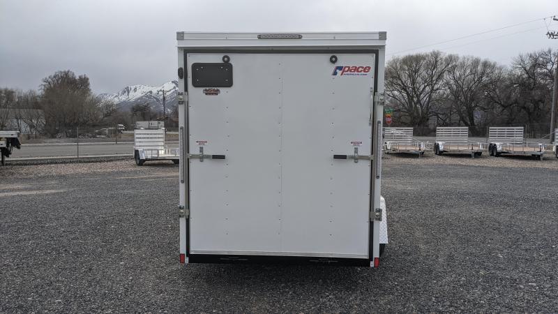 New! 2021 Pace American 6x12 Enclosed Trailer w/ Ramp Door