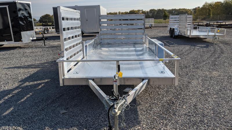 New! 2021 Cargo Mate 6.5x16 All-Aluminum Utility Trailer