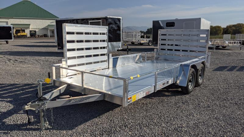 New! 2021 Cargo Mate 6.5x16 All-Aluminum Utility Trailer
