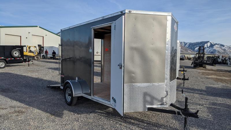 New! 2021 Cargo Mate 6x12 Enclosed Trailer w/ Ramp Door