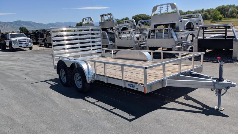2021 Everlite Inc. 14' Open Aluminum Utility Trailer