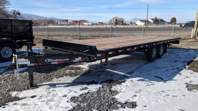 New! 2021 C&B 24' 14k Deck-Over Equipment Trailer