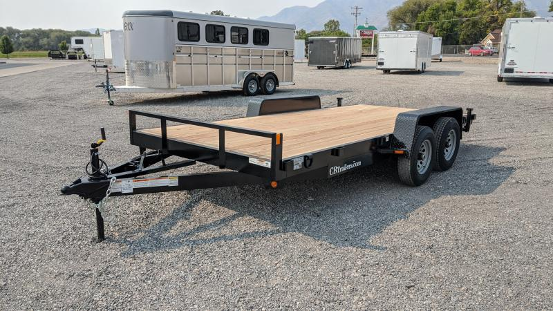 2021 C&B 16' 10K Car Hauler / Equipment Trailer