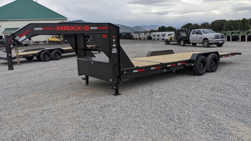 2021 MAXXD G8X Gooseneck 24' Tilt Deck Trailer