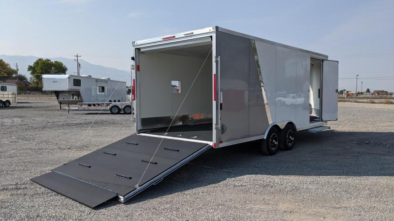 New! 2021 Everlite 8.5x25 All-Aluminum Tri-Sport Trailer