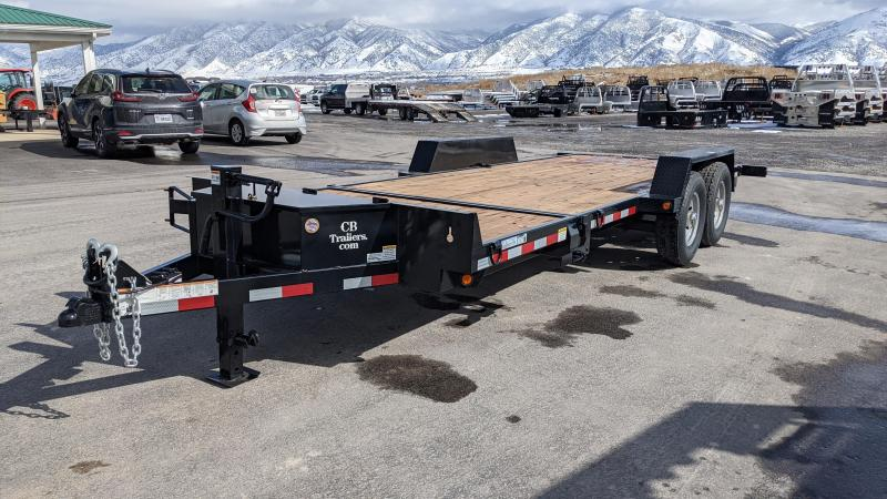 New! 2021 C&B 20' 14k Tilt Equipment Trailer
