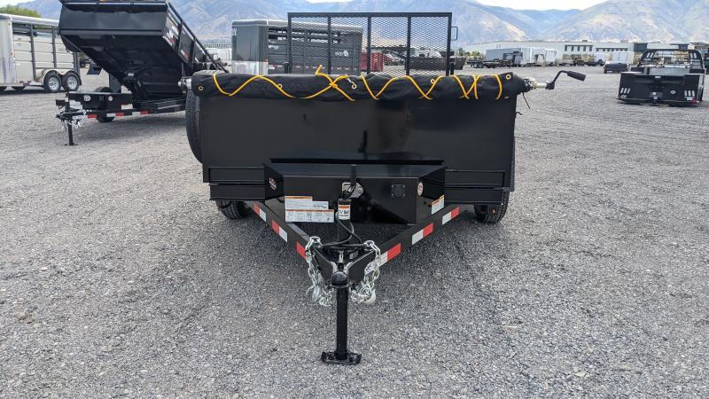New! 2021 C&B 6x10 7k Dutility Dump Trailer