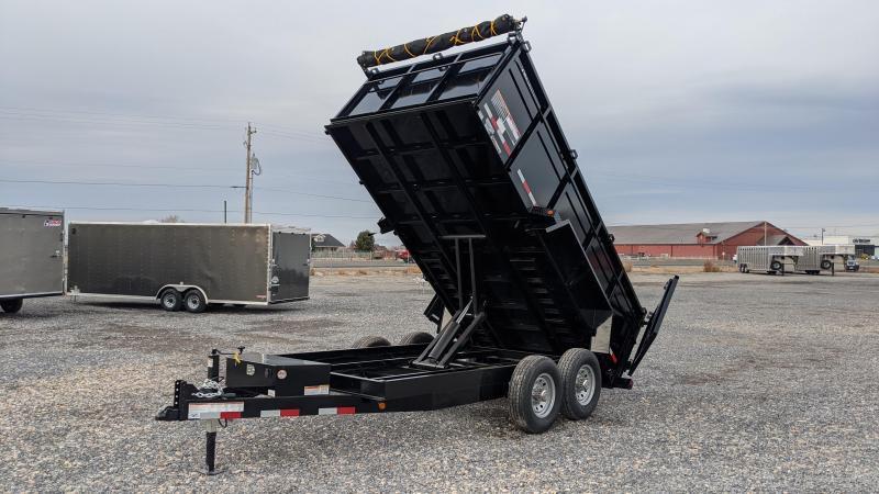 "New! 2021 C&B 7x14 14k Dump Trailer W/ 36"" Sides"