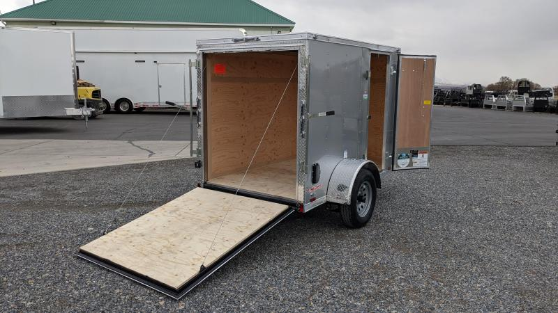 New! 2021 Cargo Mate 5x8 E-Series Enclosed Trailer
