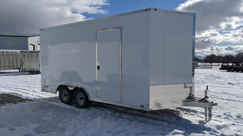 New! 2021 Cargo Mate 8.5x16 All-Aluminum E-Series Enclosed Trailer