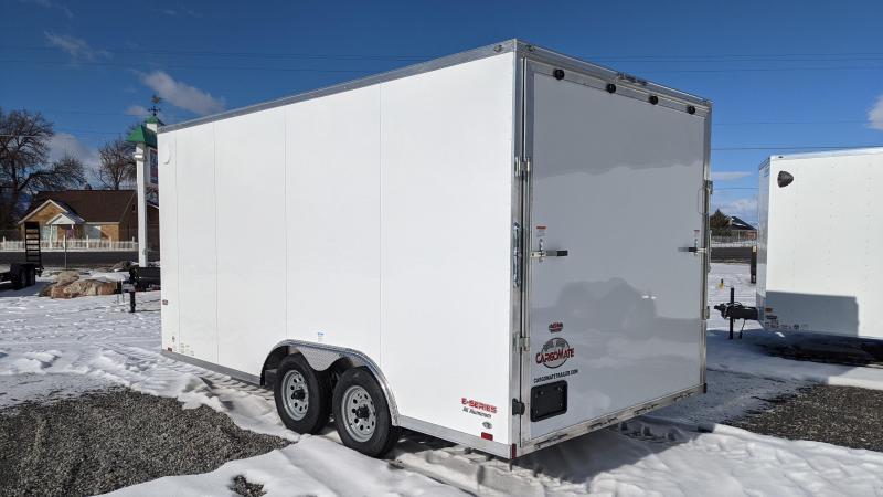 New! 2021 Cargo Mate 8.5x16 All-Aluminum E-Series Enclosed Trailer
