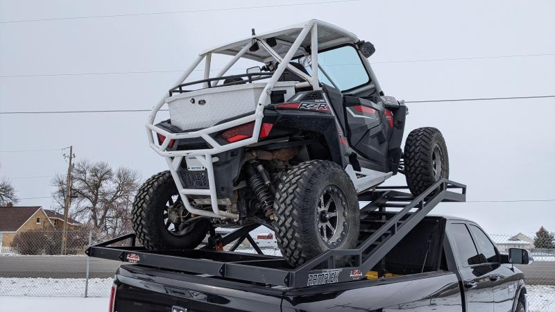 New! 2021 RampTek UTV Rack for Truck Bed
