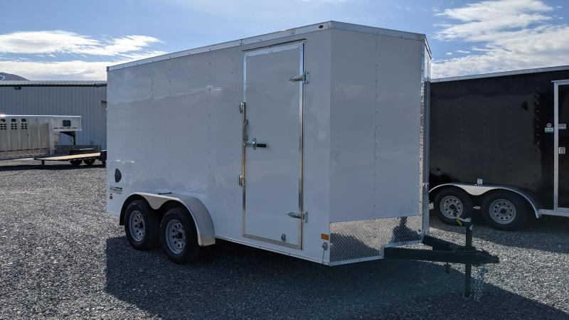 New! 2021 Haulmark 7x14 Passport Enclosed Trailer w/ Ramp Door