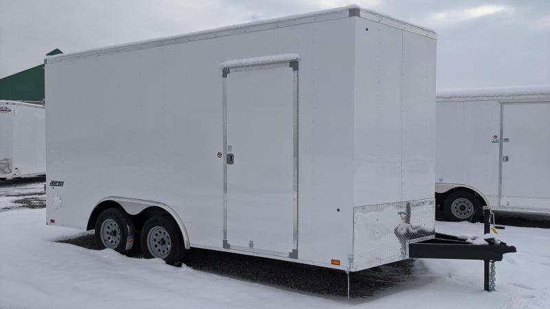 New! 2021 Pace American 8.5x16 Journey Enclosed Trailer