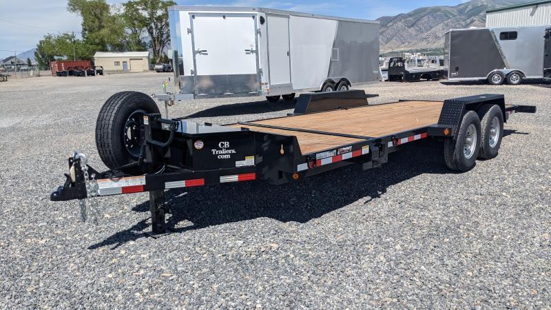 New! 2021 C&B 20' 14k Tilt Equipment Trailer