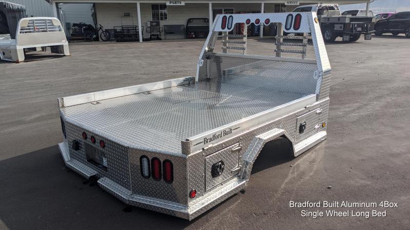 Bradford Built Aluminum 4-Box Utility