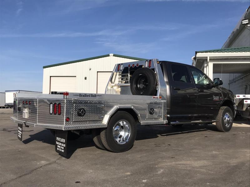 Bradford Built Aluminum 4-Box Utility  Full Skirted Truck Bed  For Dual Wheel Long Bed Truck