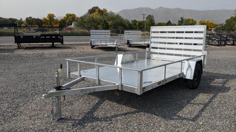 New! 2022 Cargo Mate 6.5x12 All- Aluminum Trailer