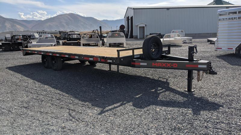 New! 2022 Maxxd 24' Deck-Over Flatbed Trailer