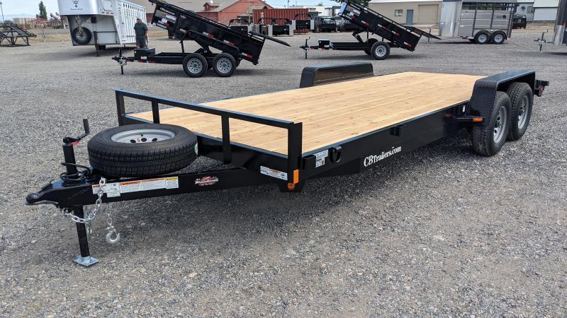 New! 2022 C&B 20' 10K Car Hauler / Equipment Trailer w/ Dovetail