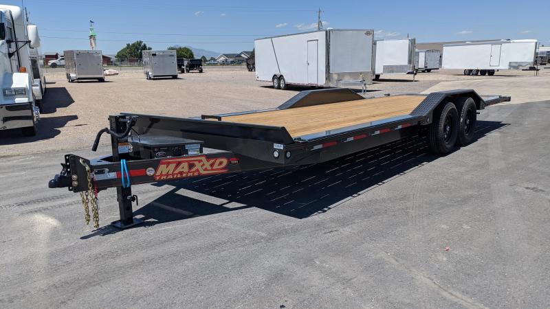 "2020 MAXXD T6X 24' 6"" Power Tilt Equipment Trailer"