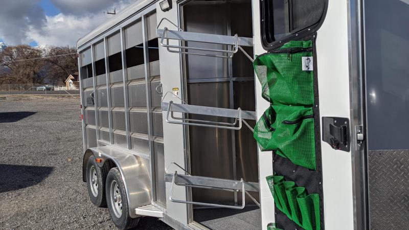 New! 2021 Maverick All-Aluminum 3 Horse Trailer