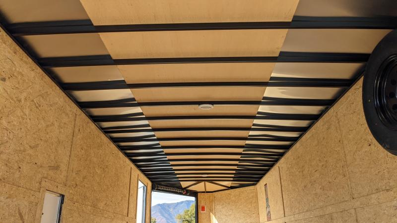 New! 2022 Pace American 8.5x27 Deck-Over Snowmobile Trailer