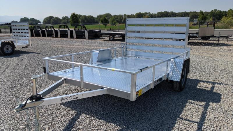 New! 2021 Cargo Mate 6.5x10 All- Aluminum Trailer