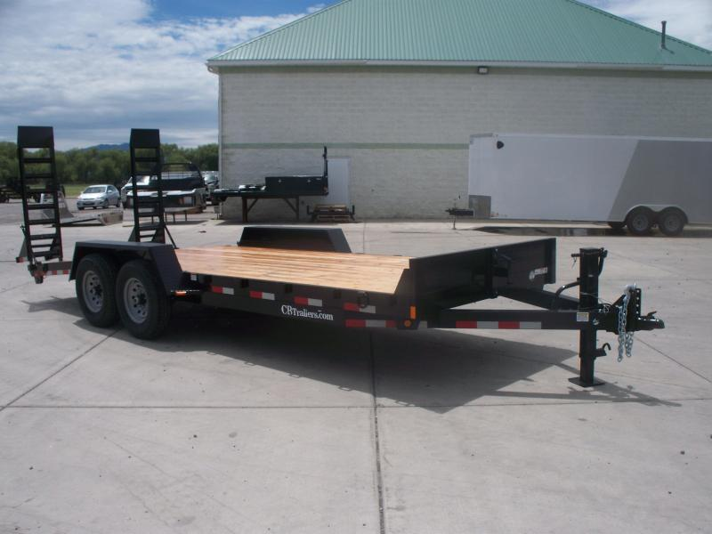 2021 C and B Quality Trailer Works EQ20-14K Flatbed Trailer