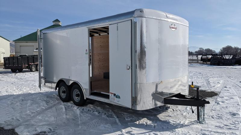 New! 2021 Cargo Mate 8.5x16 Blazer Enclosed Cargo Trailer