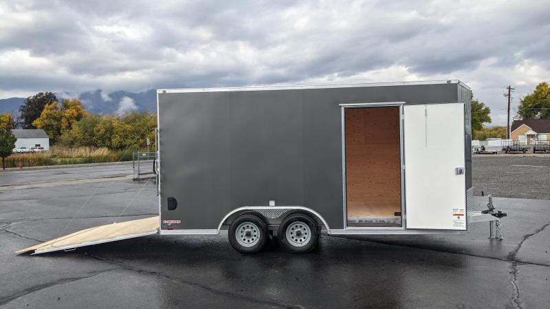 New! 2022 Cargo Mate 8.5x16 All-Aluminum E-Series Enclosed Trailer