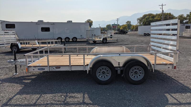 New! 2021 Everlite 7x14' All-Aluminum Utility Trailer