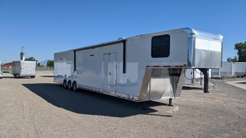 2020 Cargo Mate 48' Gooseneck Race Trailer