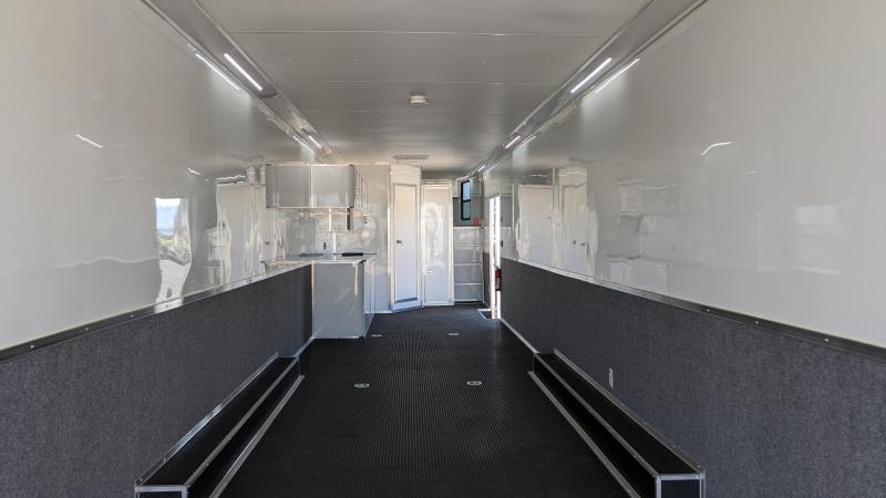 2020 Cargo Mate 48' Gooseneck Race Trailer