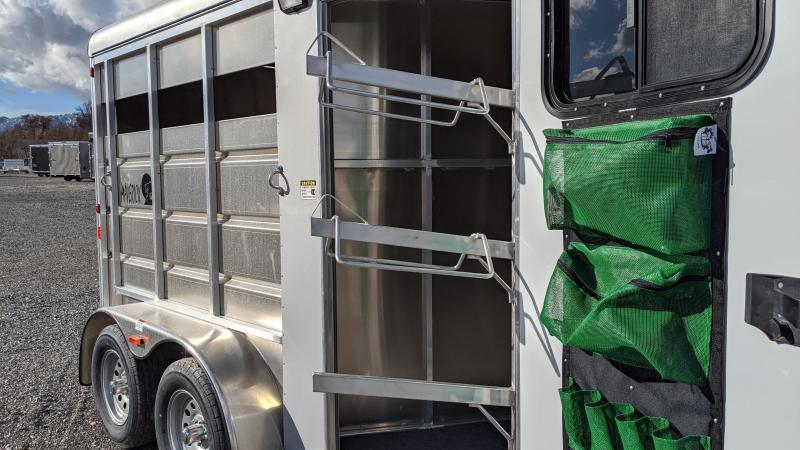 New! 2021 Maverick All-Aluminum 2-Horse Trailer