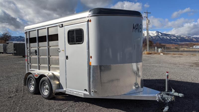 New! 2021 Maverick All-Aluminum 2-Horse Trailer