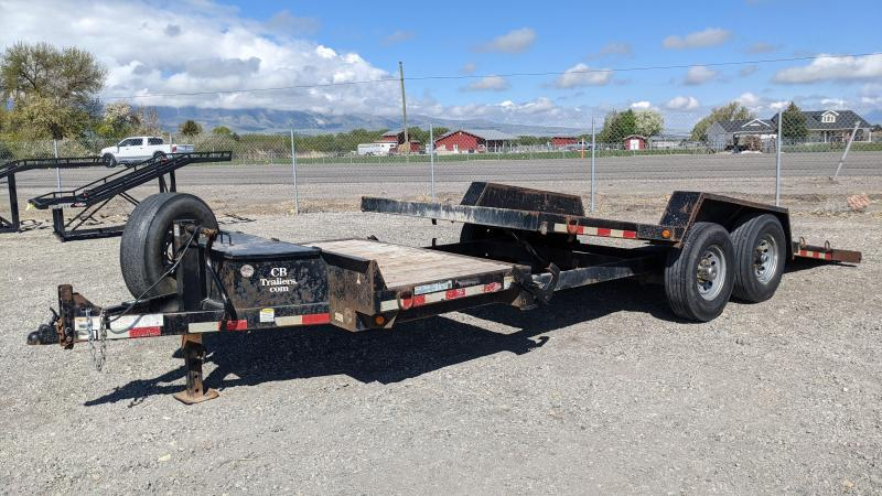 Used! 2017 C&B 20' 14K Tilt Equipment Trailer