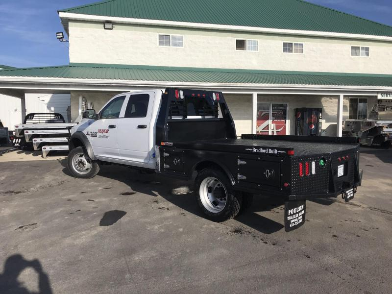 Bradford Built Steel 4-Box Utility Full Skirted Truck Bed For Cab And Chassis Trucks