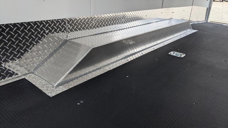 New! 2022 Haulmark All-Aluminum 8.5x28 Venture Tri-Sport Trailer
