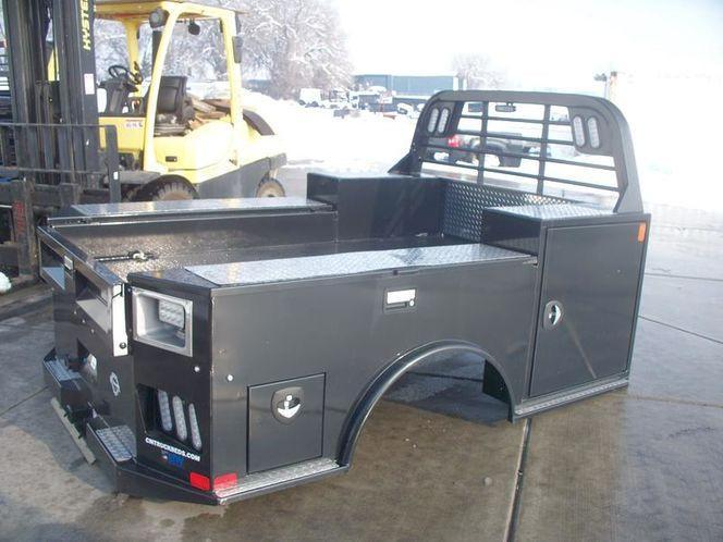 CM TM/TMX Contractors Truck Bed