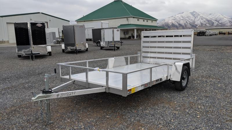 New! 2021 Cargo Mate 6.5x12 All- Aluminum Trailer