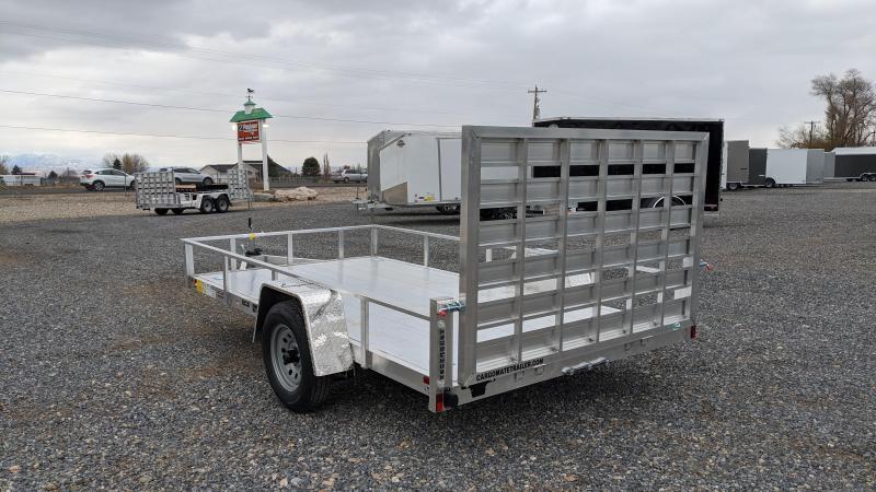 New! 2021 Cargo Mate 6.5x12 All- Aluminum Trailer