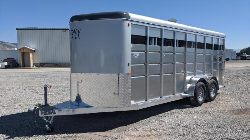 New! 2021 Maverick 4 Horse 12k All-Aluminum Trailer