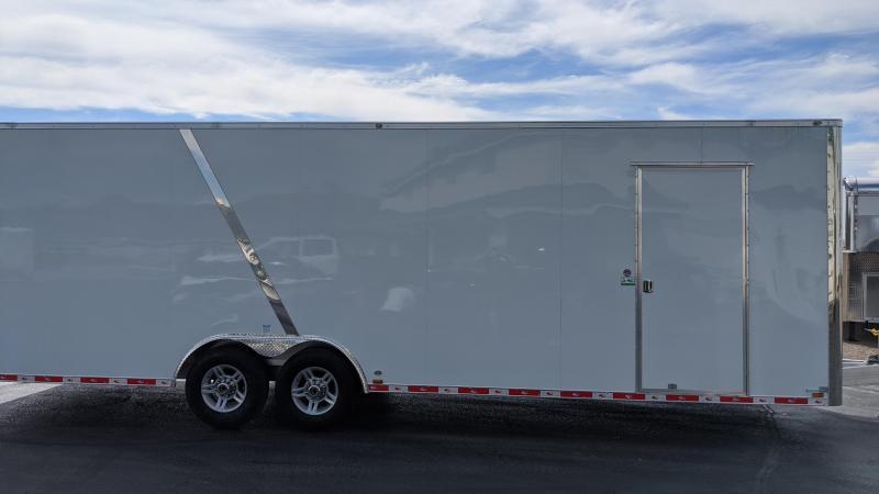2021 Redline 8.5x28 Aluminum Enclosed Trailer