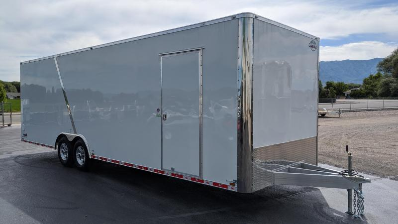 2021 Redline 8.5x28 Aluminum Enclosed Trailer