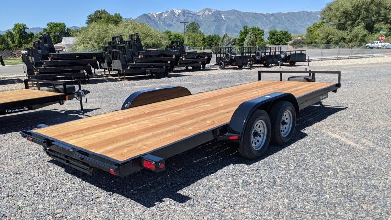 New! 2021 C&B 20' 7K Economy Car Hauler / Equipment Trailer