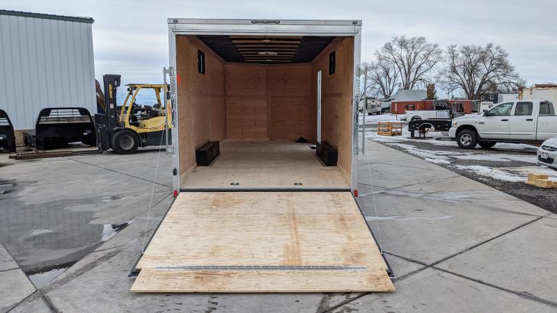 New! 2021 Cargo Mate 8.5x20 E-Series Enclosed Trailer w/ 5.2K Axles